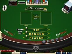 Club USA Casino Baccarat