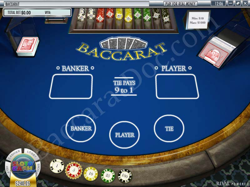 baccarat for cash reviews